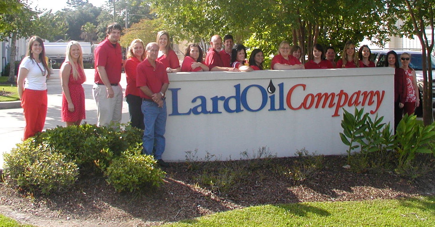 lard oil wear red
