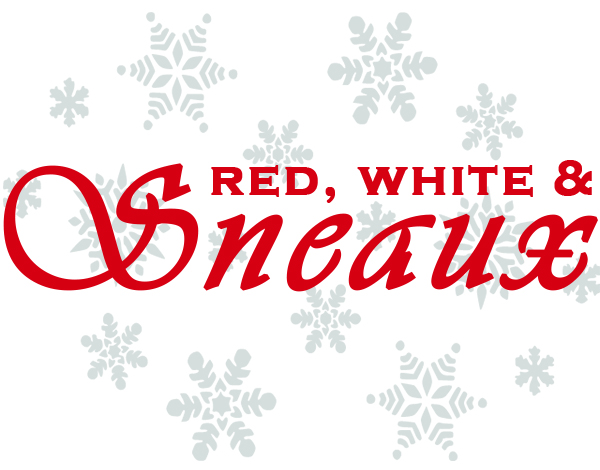Red White Sneaux logo
